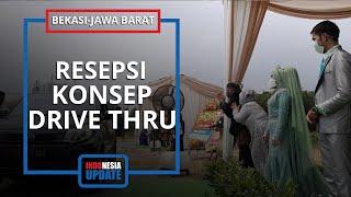 Pernikahan Unik dengan Konsep Drive Thru di Bekasi, Pihak WO: Keluarga Pengantin Sempat Keberatan