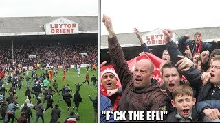 The Moment LEYTON ORIENT Got PROMOTION Back To FOOTBALL LEAGUE
