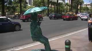 preview picture of video 'How does he do this illusion taken on the strip Las Vegas'