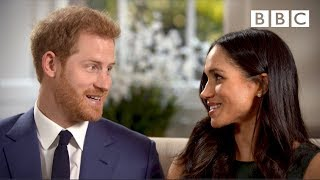 Gambar cover When Prince Harry and Meghan Markle fell in love | Interview - The Royal Wedding - BBC