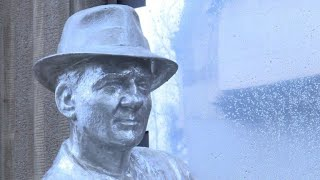 Serbia unveils statue of late US actor Karl Malden