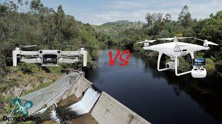 Dji Mavic Mini cinematic footage vs Dji Phantom 4 Pro cinematic footage