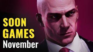 19 Upcoming PC,XB1,PS4 Games of November 2018