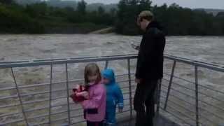preview picture of video 'Neckar Hochwasser 1. Juni 2013'