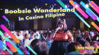 Boobsie Wonderland in Casino Filipino-Cebu || Comedy Night