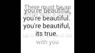 James Blunt-you're Beautiful(lyrics)