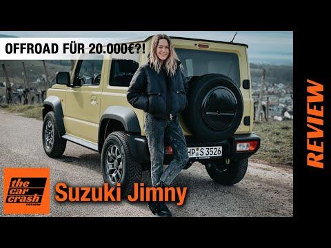 Suzuki Jimny (2021) Wie viel Offroad bekommt man für 20.000€?! 🤔 Fahrbericht   Review   Test   Preis
