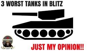 Worst Tanks In Blitz One Mans Opinion World of Tanks Blitz