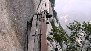 Video : China : A walk on the wild side, at HuaShan 华山