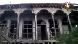 preview picture of video 'Darya  Old Houses shelled داريا اثار القصف الذي تعرضت له البيوت القديمة'