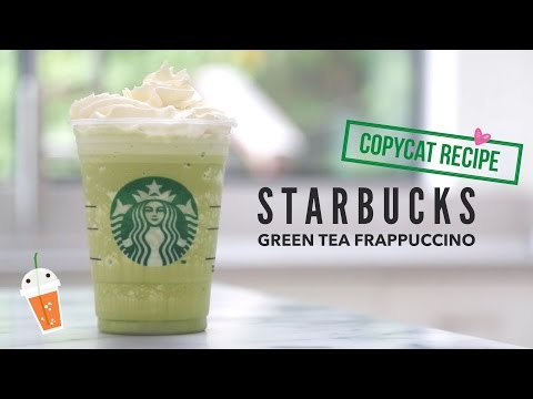 Video How to Make Starbucks Green Tea Frappuccino |  Copycat Recipe