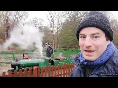 Ernest Henry Upton in action Watford - Miniature Railway Britain Episode 9