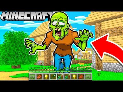 1 TAG als ZOMBIE leben in Minecraft!