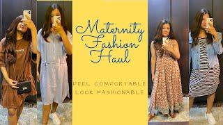 Maternity Fashion Haul | Feel Comfortable Look Fashionable | Ankita Mehrotra