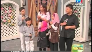 Nora & Voices Of Ummi Interview In SPM TV1 Part 1