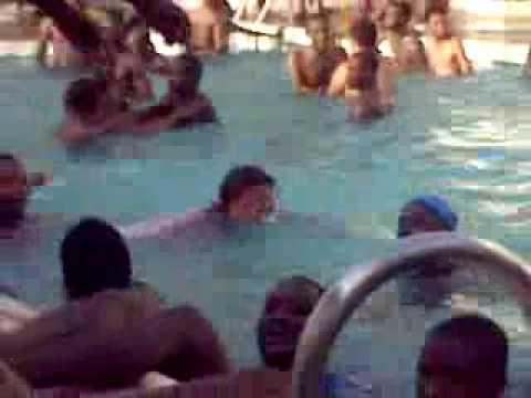 Kannywood Actress: Zainab Indomie At Swimming Pool