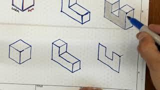 Isometric Drawing Intro