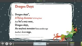 Dragon Days - Words on Screen™ v2 Sample
