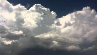 Nubes en Saltillo