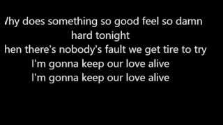 Afrojack ft Matthew Koma - Keep Our Love Alive lyrics HD