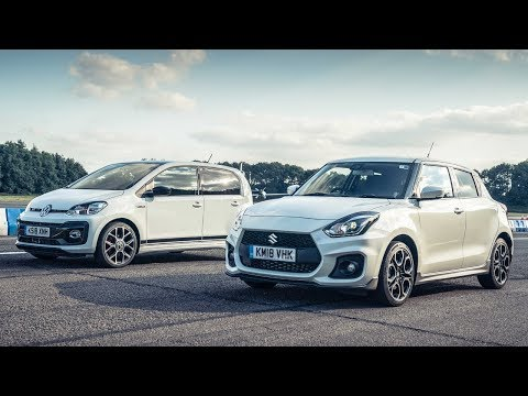 Volkswagen Up GTI vs Suzuki Swift Sport | Drag Races | Top Gear