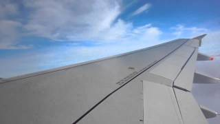 preview picture of video 'Take off from Paris - Air France (A318) - December 2010'