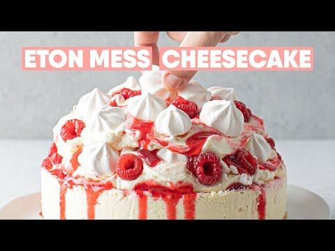 0 Eton mess cheesecake