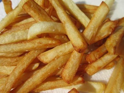 FRENCH FRIES - How to make Crispy FRENCH FRIES Tutorial