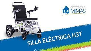 Silla de Ruedas Eléctrica con Plegado Automático H3