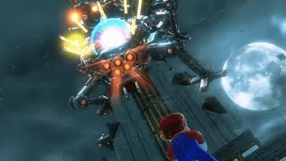 Super Mario Odessey Wiggler Boss Battle