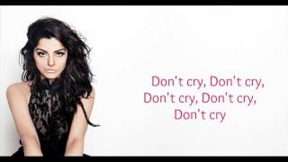 Bebe Rexha - Bad Bitches Don't Cry (Lyrics )
