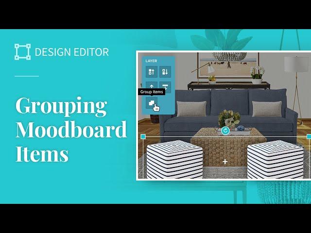 Moodboard Grouping Tool