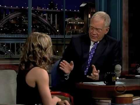 Shawn Johnson on David Letterman (Part 1/2)