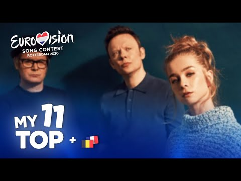 Eurovision 2020 - Top 11 (NEW: 🇧🇪🇫🇷)