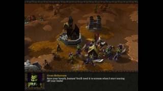 Совместное прохождение кампании WarCraft 3 - Орки 03