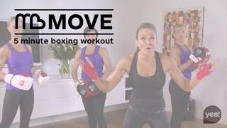 Michelle Bridges Exercise 5 min boxing workout by Michelle Bridges