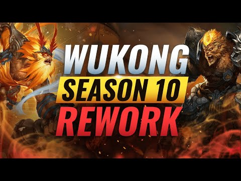 UPCOMING REWORK: NEW WUKONG CHANGES (All Abilities) - League of Legends Season 10
