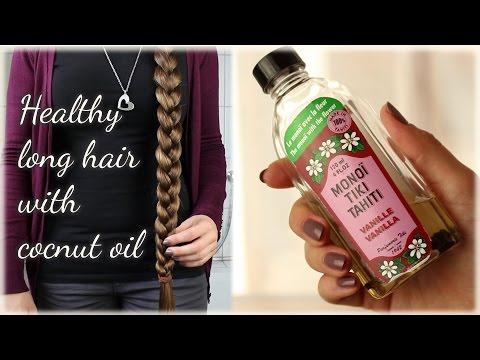 Monoi Coconut oil for healthy long hair
