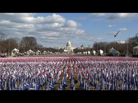ΗΠΑ: Σημαίες αντί για πολίτες
