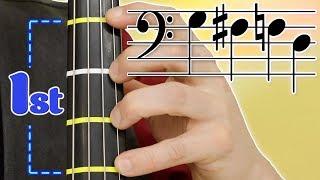 First Position on Cello | Basics of Cello