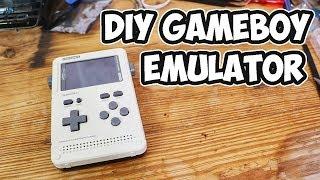 Clockwork Pi GameShell DIY Gameboy Emulator