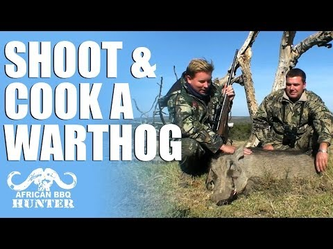 African BBQ Hunter – how to hunt and cook warthog