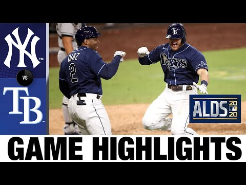 Mike Brosseau's go-ahead home run sends Rays to ALCS   Yankees-Rays Game 5 Highlights 10/9/20