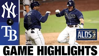Mike Brosseau's go-ahead home run sends Rays to ALCS | Yankees-Rays Game 5 Highlights 10/9/20