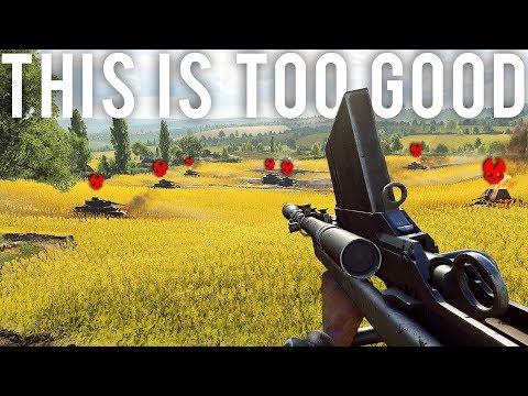 This new Gun is way too good in Battlefield 5