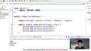 Java Enum - Make Your Own Enum