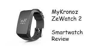 MyKronoz ZeWatch 2 Smartwatch Review