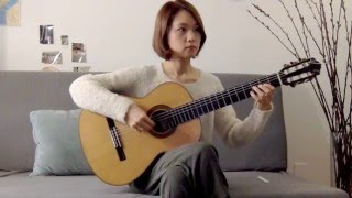 Hello - Adele - classical guitar cover (fingerstyle) - Yenne Lee 이예은