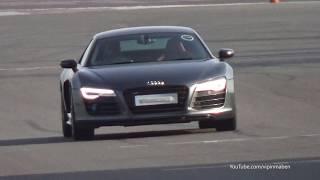 Audi R8 V10 Plus w/ Capristo X Pipe Exhaust On Track