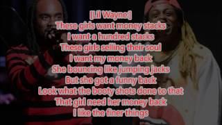 Wale ft Lil Wayne - Running Back Lyrics 2017